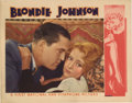 "Movie Posters:Drama, Blondie Johnson (Warner Brothers, 1933). Lobby Cards (2) (11"" X 14""). These two cards reveal that Joan Blondell's memorably ... (Total: 2 Items)"