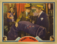 """East Is West (Universal, 1930). Lobby Card (11"""" X 14""""). Very rare lobby card from one of Edward G. Robinson's..."""