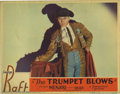 "Movie Posters:Drama, The Trumpet Blows (Paramount, 1934). Lobby Card (11"" X 14""). Thislobby card from a posed scene in the film features George ..."
