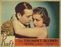 "Movie Posters:Drama, The Trumpet Blows (Paramount, 1934). Lobby Card (11"" X 14""). SinceParamount didn't make title cards, this portrait card wit..."