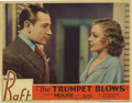 """Movie Posters:Drama, The Trumpet Blows (Paramount, 1934). Lobby Cards (4) (11"""" X 14"""").This lot consists of four lobby cards. All of the films le...(Total: 4 Items)"""