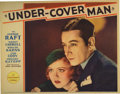 "Movie Posters:Crime, Under-Cover Man (Paramount, 1932). Lobby Card (11"" X 14""). GeorgeRaft stars with Nancy Carroll in this early gangster flick..."