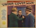 "Movie Posters:Crime, Under-Cover Man (Paramount, 1932). Lobby Cards (2) (11"" X 14"").Cards from this early 1930's Paramount film are truly scarce...(Total: 2 Items)"