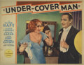 "Movie Posters:Crime, Under-Cover Man (Paramount, 1932). Lobby Cards (2) (11"" X 14"").Nancy Carroll has to get a little ""chummy"" with Lew Cody, th...(Total: 2 Items)"