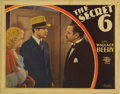 "Movie Posters:Crime, The Secret Six (MGM, 1931). Lobby Card (11"" X 14""). Very Rare lobbycard for early gangster talkie about bootleggers feature..."