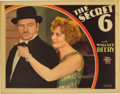 "Movie Posters:Crime, Secret Six, The (MGM, 1931). Lobby Card (11"" X 14""). Very Rarelobby card for early gangster talkie about bootleggers featur..."