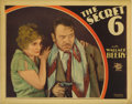 "Movie Posters:Crime, The Secret Six (MGM, 1931). Lobby Card (11"" X 14""). Very Rare lobby card for early gangster talkie about bootleggers feature..."