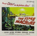 "Movie Posters:Science Fiction, The Time Machine (MGM, 1960). Six Sheet (81"" X 81""). George Paldirected this adaptation of H.G. Wells classic story for the..."