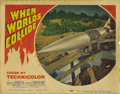 "Movie Posters:Science Fiction, When Worlds Collide (Paramount, 1951). Lobby Cards (2) (11"" X 14"").George Pal, the producer of ""Destination Moon,"" ""The War... (Total:2 Items)"