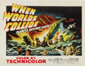 """Movie Posters:Science Fiction, When Worlds Collide (Paramount, 1951). Half Sheet (22"""" X 28"""").George Pal created some high tech wizardry that frightened au..."""