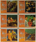 "Movie Posters:Science Fiction, The War of the Worlds (Paramount, 1953). Lobby Cards (6) (11"" X14""). This lot consists of six of the lobbies from the set o...(Total: 6 Items)"