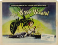 "Movie Posters:Science Fiction, The Wasp Woman (Film Group, Inc., 1959). Half Sheet (22"" X 28"").One of the things that make collectors gravitate to the sci..."