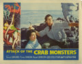 "Movie Posters:Science Fiction, Attack of the Crab Monsters (Allied Artists, 1957). Lobby Card Setof 4 (11"" X 14""). Roger Corman directs Richard Garland an...(Total: 4 Items)"