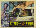 "Movie Posters:Science Fiction, Attack of the 50 Foot Woman (Allied Artists, 1958). Lobby Cards (4)(11"" X 14""). A wealthy beauty (Allison Hayes), abducted ... (Total:4 Items)"