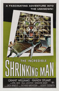 "Movie Posters:Science Fiction, Incredible Shrinking Man (Universal International, 1957). One Sheet(27"" X 41""). In a long and distinguished career, Richard..."