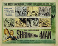 "Movie Posters:Science Fiction, Incredible Shrinking Man (Universal International, 1957). HalfSheet (22"" X 28"").Style A. Great half sheet poster for Univer..."