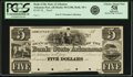 Obsoletes By State:Arkansas, Arkansas (Post), AR - Branch of the Bank of the State of Arkansas $5 18__ AR-10 G100, Rothert 18-1. Proof. PCGS Choice About N...