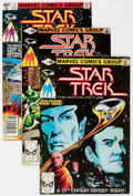 Modern Age (1980-Present):Science Fiction, Star Trek Group of 23 (Marvel/DC, 1980-84) Condition: AverageVF.... (Total: 23 Comic Books)