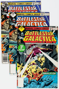 Battlestar Galactica #1-23 Complete Series Group (Marvel, 1979-81) Condition: Average VF.... (Total: 25 Comic Books)