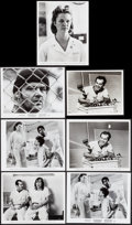 "Movie Posters:Academy Award Winners, One Flew Over the Cuckoo's Nest (United Artists, 1975). Photos (6) (8"" X 10"") & Restrike Photo (7"" X 9""). Academy Award Winn... (Total: 7 Items)"