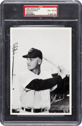 Baseball Cards:Singles (1950-1959), 1957 Sohio Cleveland Indians Roger Maris PSA NM-MT 8 - None Higher!...