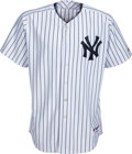 Baseball Collectibles:Uniforms, 2008 Bobby Murcer New York Yankees Old-Timers' Day Jersey from The Bobby Murcer Collection. ...