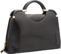"Luxury Accessories:Bags, Judith Leiber Black Lizard Tote Bag. Good Condition. 13""Width x 9.5"" Height x 4"" Depth. ..."