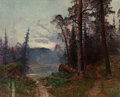 Fine Art - Painting, European:Antique  (Pre 1900), Johan Kindborg (Swedish, 1861-1907). Path to the Water,1889. Oil on canvas. 29-1/2 x 36-1/2 inches (74.9 x 92.7 cm). Si...