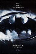 """Movie Posters:Action, Batman Returns (Warner Brothers, 1992). One Sheets (2) (27"""" X 40"""")DS Advances. Action.. ... (Total: 2 Items)"""