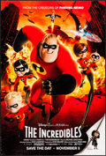 "Movie Posters:Animation, The Incredibles (Buena Vista, 2004). One Sheet (27"" X 40"") DSAdvance. Animation.. ..."