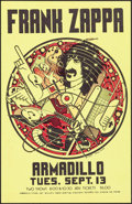 """Movie Posters:Rock and Roll, Frank Zappa at the Armadillo World Headquarters (AWH, 1977). Concert Poster (11"""" X 17""""). Rock and Roll.. ..."""