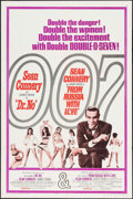 "Movie Posters:James Bond, Dr. No/From Russia with Love Combo (United Artists, R-1965). One Sheet (27"" X 41"") & Uncut British Pressbook (6 Pages, 9.5"" ... (Total: 2 Items)"