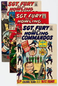Sgt. Fury and His Howling Commandos Group of 33 (Marvel, 1967-72) Condition: Average VF/NM.... (Total: 33 Comic Books)