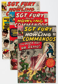 Sgt. Fury and His Howling Commandos Group of 40 (Marvel, 1964-72) Condition: Average FN+.... (Total: 40 Comic Books)