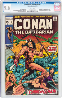 Conan the Barbarian #1 (Marvel, 1970) CGC NM+ 9.6 White pages