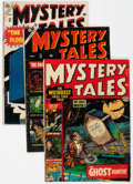 Golden Age (1938-1955):Horror, Mystery Tales Group of 4 (Atlas, 1952-55) Condition: AverageGD/VG.... (Total: 4 Comic Books)