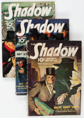 Pulps:Detective, Shadow Group of 3 (Street & Smith, 1941-42) Condition: AverageVG.... (Total: 3 Comic Books)