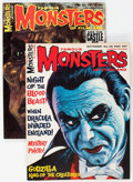 Magazines:Horror, Famous Monsters of Filmland #33 and 35 Group (Warren, 1965) Condition: Average VF+.... (Total: 2 Items)
