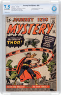 Silver Age (1956-1969):Superhero, Journey Into Mystery #83 (Marvel, 1962) CBCS VF- 7.5 Off-white towhite pages....