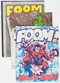 Magazines:Superhero, Foom Group of 8 (Marvel, 1973-78) Condition: Average VF.... (Total:8 Comic Books)