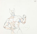 Animation Art:Production Drawing, Pryde of the X-Men Wolverine Anime Animation Drawing (MarvelStudios/Toei Animation, 1989)....