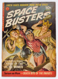 Golden Age (1938-1955):Science Fiction, Space Busters #1 (Ziff-Davis, 1952) Condition: VG....