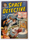 Golden Age (1938-1955):Science Fiction, Space Detective #1 (Avon, 1951) Condition: VG....