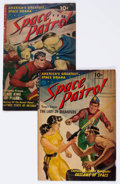 Golden Age (1938-1955):Science Fiction, Space Patrol #1 and 2 Group (Ziff-Davis, 1952) Condition: AverageVG.... (Total: 2 Comic Books)