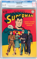 Golden Age (1938-1955):Superhero, Superman #29 (DC, 1944) CGC FN 6.0 Off-white to white pages....