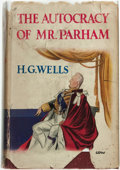 Books:Science Fiction & Fantasy, H[erbert] G[eorge] Wells. The Autocracy of Mr. Parham: His Remarkable Adventures in this Changing World. London:...