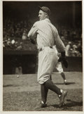 Baseball Collectibles:Photos, Circa 1925 Lou Gehrig Original News Photograph by Charles Conlon,PSA/DNA Type 1....