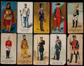 "Non-Sport Cards:Singles (Pre-1950), 1880's N224 Kinney ""Military Series"" Collection (77)...."