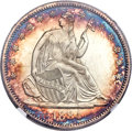 Seated Half Dollars, 1884 50C Repunched Date, WB-102, MS67+ NGC....