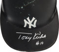 Baseball Collectibles:Others, 1960's Tony Kubek Game Worn New York Yankees Helmet. ...